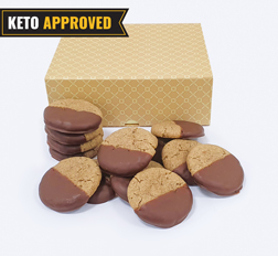 Keto Chocolate Dipped Cookie By Broadway Bakery