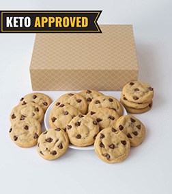 Keto Chocolate Chip Cookie By Broadway Bakery.
