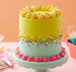 Summer Funfetti Celebration Cake