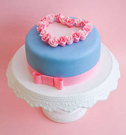 My Sweet Valentine's Cake