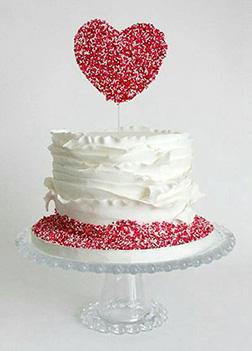 Sprinkle of Love Cake