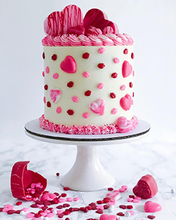 Overflowing with Love Cake