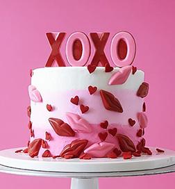 Plenty of Kisses Cake