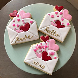Bursting Love Cookies