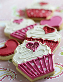 Pink Romance Cookies