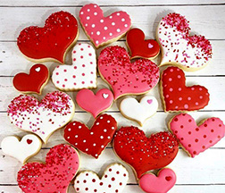 Adoring Hearts Cookies