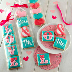 You & Me in Love Cookies
