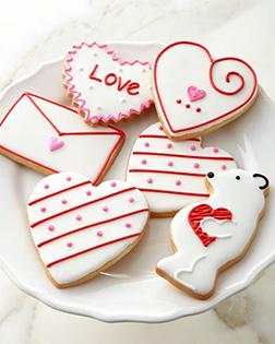Bear in Love Cookies