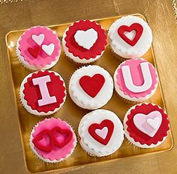 Love Sparks Dozen Cupcakes