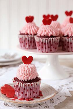 Lucious Pink Dozen Cupcakes